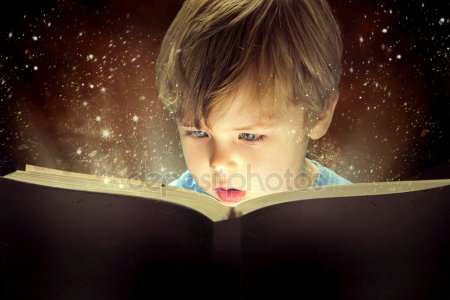 depositphotos 41194153 stock photo little boy and the magic